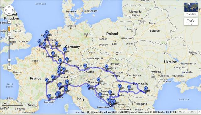 Eurotrip Ii I Am A Traveler A Smiley One