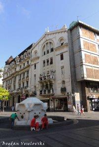 01. Fountain & Kneza Mihaila Street