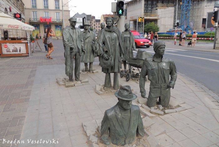 The Anonymous Pedestrians (Pomnik Przejścia)