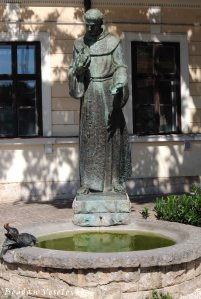 02. Statue of Saint Francis of Assisi (Assisi Szent Ferenc szobra)