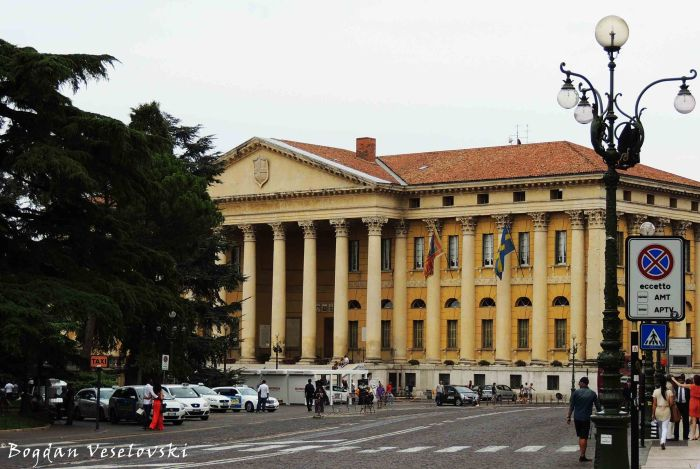 03. Barbieri Palace - City hall (Palazzo Barbieri - comune di Verona)