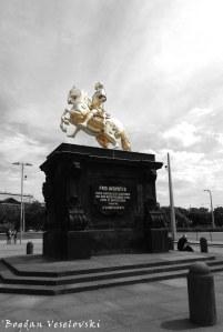 03. Golden Rider - Equestrian statue of August the Strong (Goldener Reiter - August der Starke Reiterstandbild)