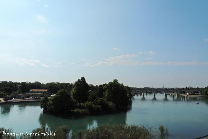 03. Railway Bridge over Mincio river (Ponte ferroviario sul fiume Mincio)