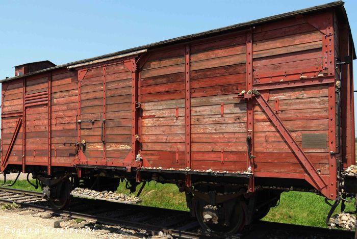 05. Auschwitz-Birkenau - Deutsche Reichsbahn 'Güterwagen'