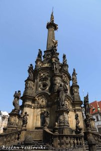 06. Holy Trinty Column (Cestny sloup Nejsvetejsi Trojice) - UNESCO