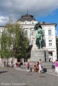 06. Prešeren Monument & Central Pharmacy (Prešernov spomenik & Centralna lekarna)