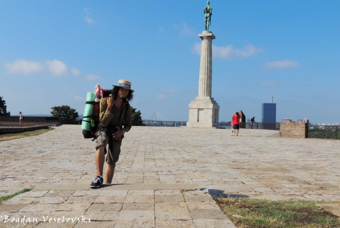 07. Belgrade Fortress - Statue of Victor (Beogradska tvrđava - Pobednik)