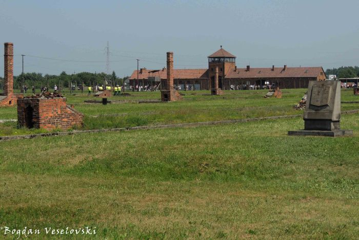 10. Auschwitz-Birkenau - Stoves and chimneys
