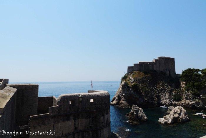 10. Bokar Fortress & St. Lawrence Fortress (Lovrijenac)