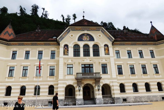 10. Government Building of Liechtenstein (Regierungsgebäude des Fürstentums Liechtenstein)