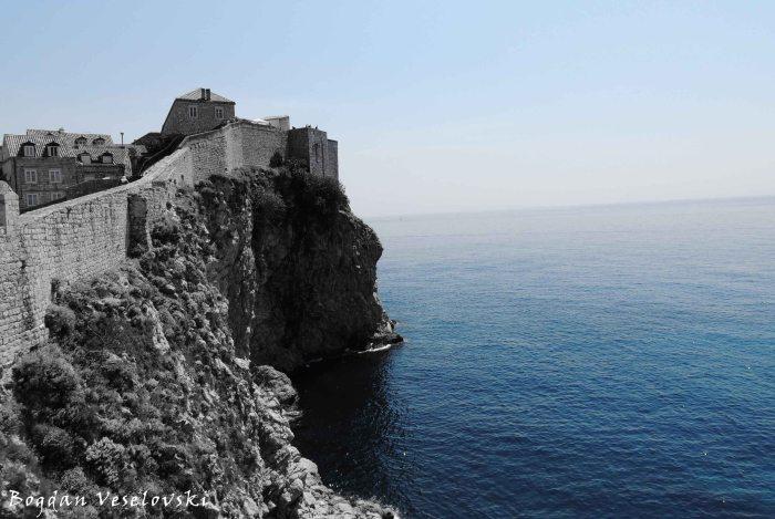 11. City walls & & Adriatic Sea