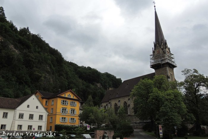 11. Vaduz Cathedral - Cathedral of St. Florin (Kathedrale St. Florin - St. Florinskirche in Vaduz)