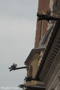 12. Dragon Gargoyles of the Wawel Cathedral
