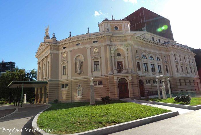 12. Slovenian National Opera and Ballet Theatre (Slovensko narodno gledališče Opera in balet Ljubljana)