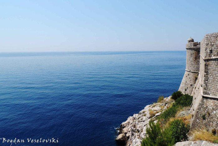 13. City Walls & Adriatic Sea