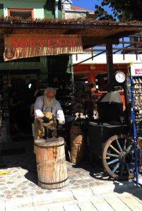 13. Montenegrin Santa in a souvenir shop