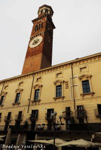 13. Torre dei Lamberti from Piazza Erbe