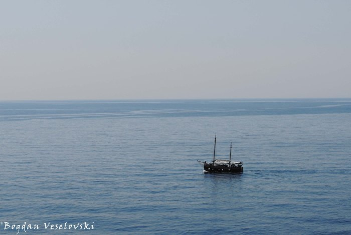 14. Boat on the Adriatic Sea