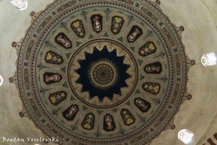 15. Cupola of the Mosque of Pasha Qasim (Gázi Kászim pasa dzsámija vagy Belvárosi Gyertyaszentelő Boldogasszony-templom)