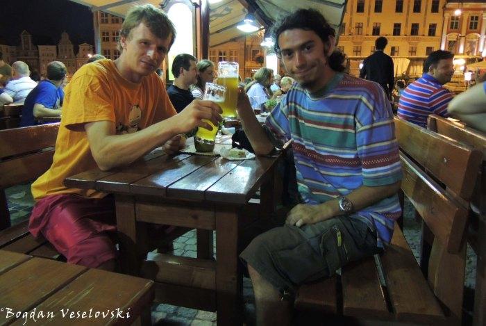 19. Excellent honey beer at Spiż