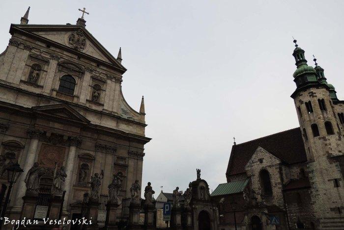 20. Church of Saints Peter and Paul & St. Andrew's Church (Kościół ŚŚ Piotra i Pawła & Kościół św. Andrzeja)