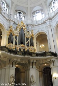 21. Pipe organ - Church of Our Lady (Frauenkirche)
