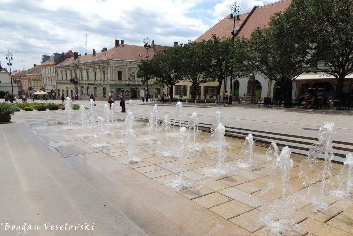 21. Széchenyi square (Széchenyi tér)