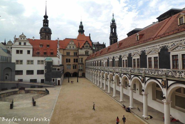 22. Stables Courtyard of Dresden Castle (Stallhof)