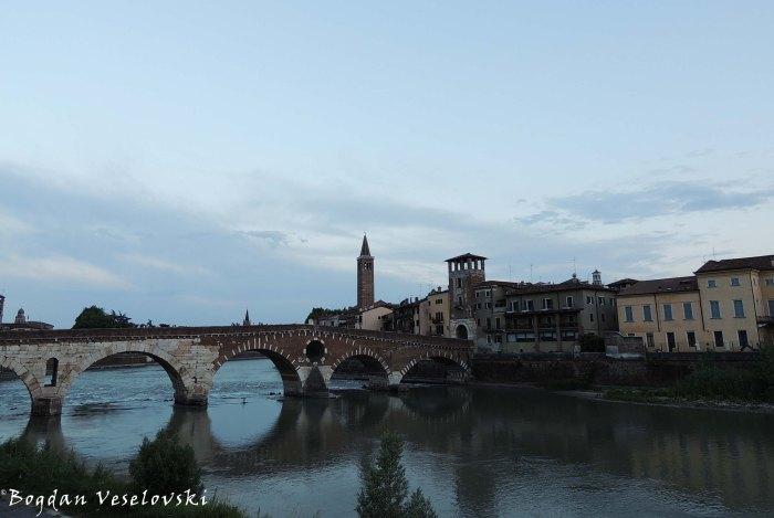 29. Ponte Pietra & Church of Sant'Anastasia