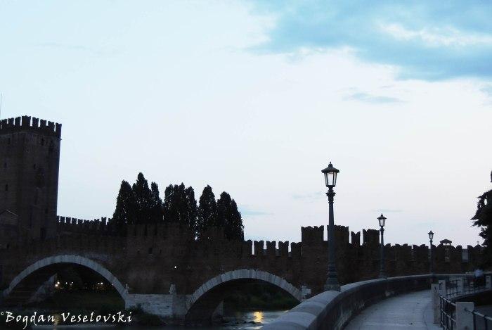 31. Castelvecchio Bridge or Scaliger Bridge (Ponte di Castel Vecchio o Ponte Scaligero)