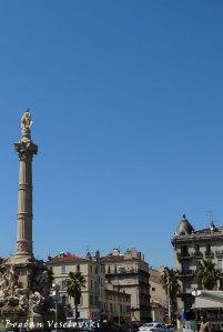 Fountain de Cantini at the Place Castellane