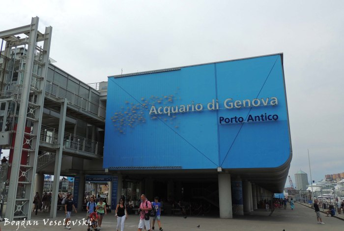 02. Aquarium of Genoa (Acquario di Genova) - the largest aquarium in Italy