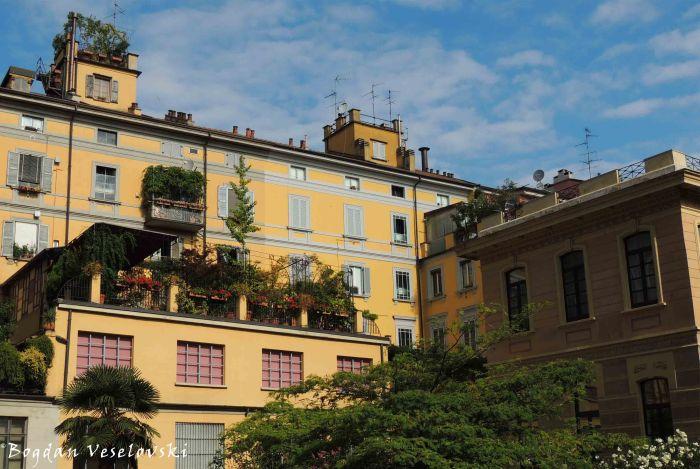 03. Green balconies