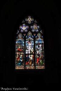 06. Stained glass - English Church of the Holy Trinity ((Église Anglaise)