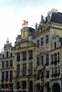 07. Guildhalls in Grand Place (Grote Markt)