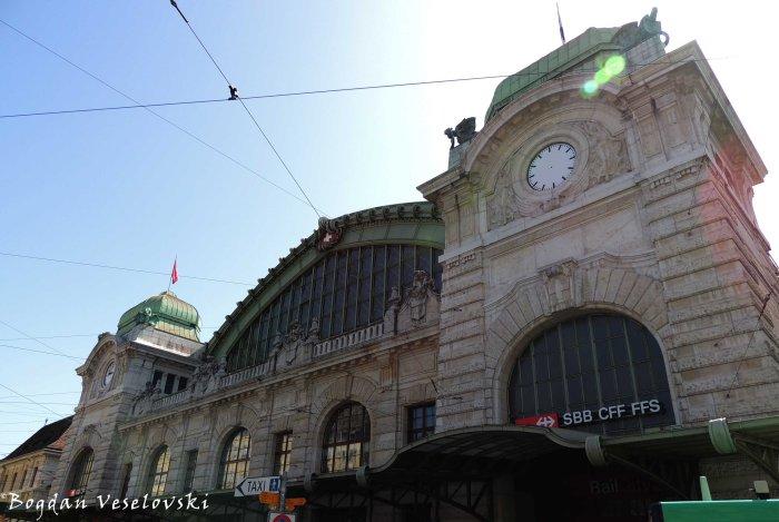 09. Basel SBB railway station (Bahnhof Basel SBB)