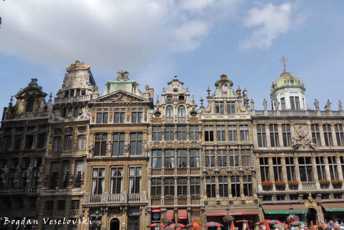09. Guildhalls in Grand Place (Grote Markt)
