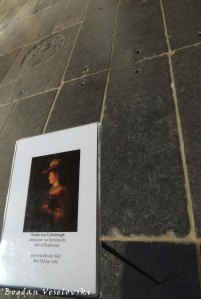 09. Old Church (Oude Kerk) - Grave of Saskia van Uylenburgh, wife of Rembrandt