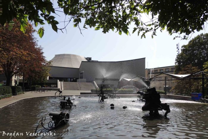 10. Theater Basel & Tinguely's Carnival Fountain (Fasnachtsbrunnen)