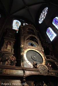 12. The Astronomical clock of the Cathedral