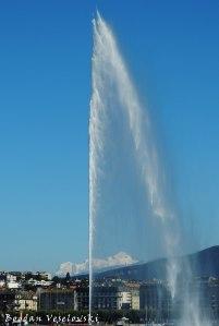 13. Water-Jet & Mont Blanc (Jet d'Eau & Mont Blanc)