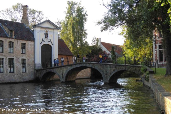 14. Outside of the Beguinage