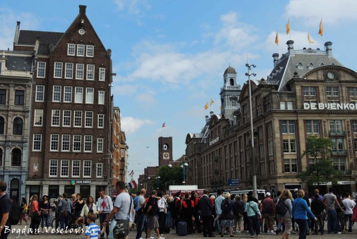 16. Beurs van Berlage on the Damrak (viewed from Dam Square)