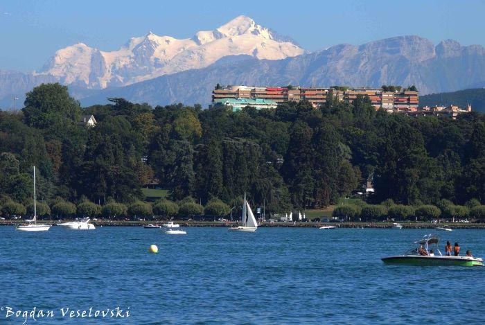 17. Lake Geneva & Mont Blanc