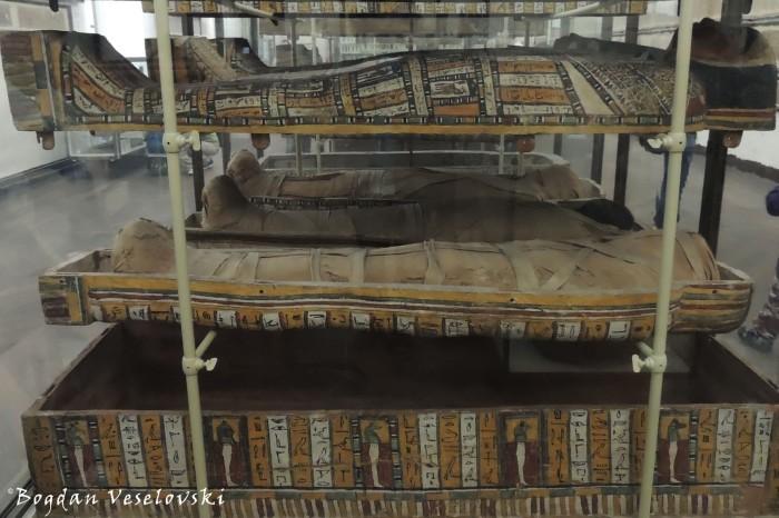 Sarcophagi in Museo Egizio