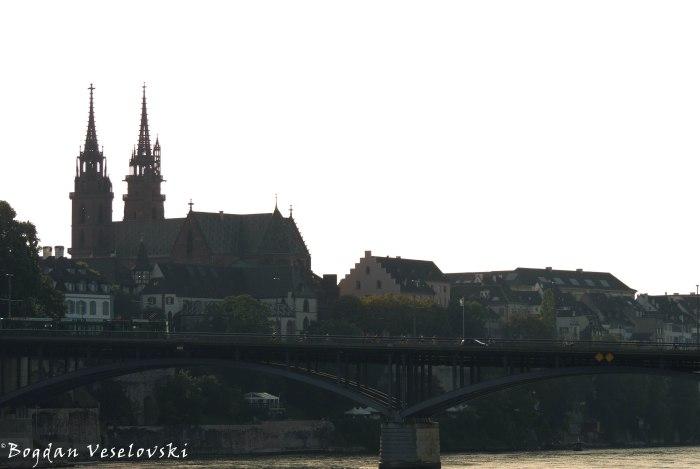 18. Wettsteinbrücke & Basel Minster (Basler Münster)