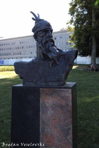 19. Bust of Scanderbeg in Mon Repos Park
