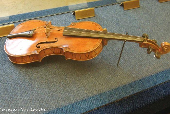 19. Stradivarius violin in the Museum of Musical Instruments, Sforza Castle (Civico Museo degli Strumenti Musicali, Castello Sforzesco)