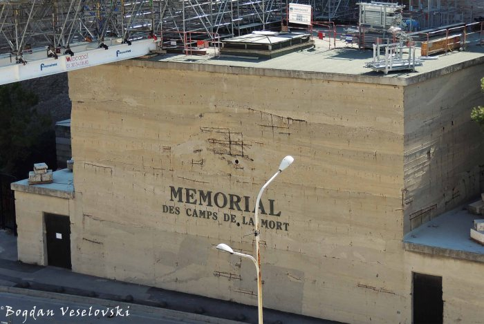 20. The Death Camps Memorial (Mémorial des camps de la mort)