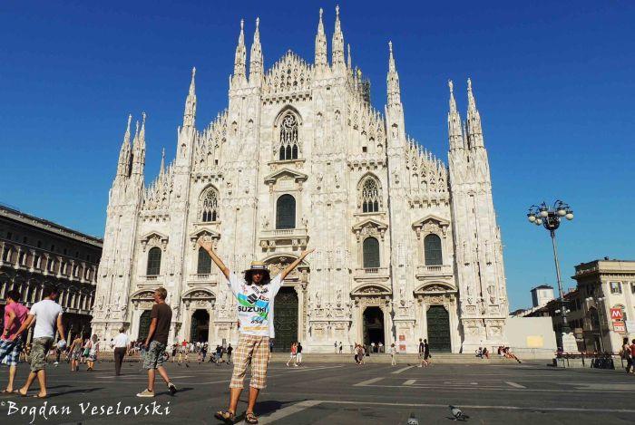 24. Milan Cathedral - Metropolitan Cathedral-Basilica of the Nativity of Saint Mary ( Duomo di Milano - Basilica cattedrale metropolitana di Santa Maria Nascente)